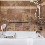 Ramada Frisco ADA Bathroom